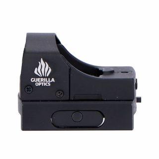 Celownik kolimatorowy Guerilla Tactical Micro Red-Dot Black