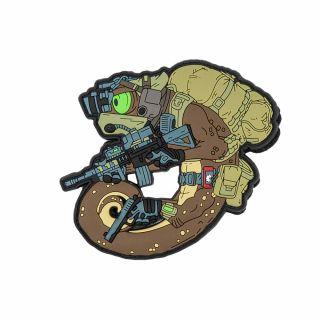 Emblemat Helikon Chameleon Operator - Desert
