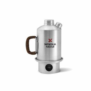 Czajnik Survival Kettle Silver - 1,2L