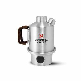 Czajnik Survival Kettle Silver Half - 0,7L