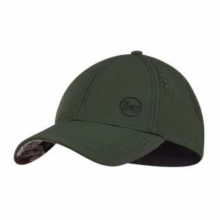 Czapka Buff TREK CAP HASHTAG MOSS GREEN L/XL