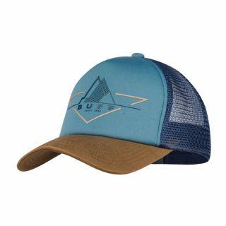 Czapka Buff TRUCKER CAP BRAK STONE BLUE