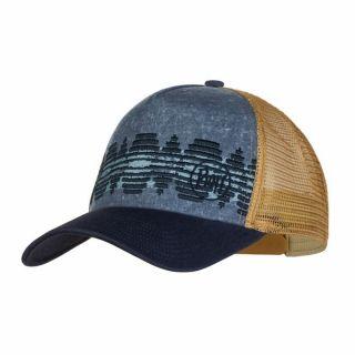 Czapka Buff TRUCKER CAP TZOM STONE BLUE