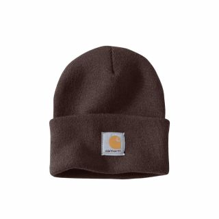Czapka Carhartt Acrylic Watch Hat Dark Brown
