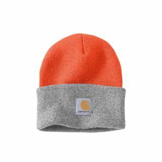 Czapka Carhartt Acrylic Watch Hat Orange/H.Grey