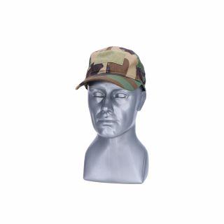 Czapka z daszkiem Guerilla Tactical Woodland
