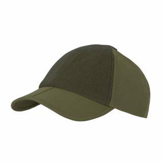 Czapka z daszkiem Helikon Folding Outdoor Cap - Olive Green