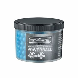 Kule gumowe T4E RB 43 Powerball .43 430 szt. Blue