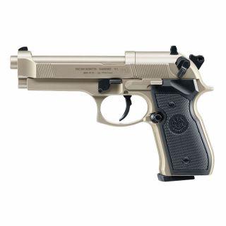 Wiatrówka Pistolet Beretta M92 FS Diabolo 4,5 mm Nikiel