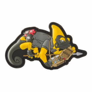 Emblemat Helikon Chameleon Medical Exclusive Yellow