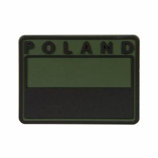 Emblemat Helikon FLAGA PL Gaszona POLAND - Olive Green