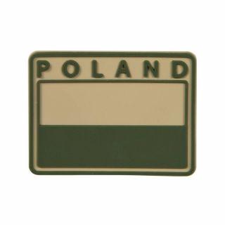 Emblemat Helikon FLAGA PL Gaszona POLAND - Beżowy