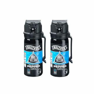 Gaz pieprzowy w żelu Walther ProSecur Gel UV 50 ml  2 szt