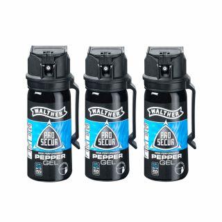 Gaz pieprzowy w żelu Walther ProSecur Gel UV 50 ml  3 szt
