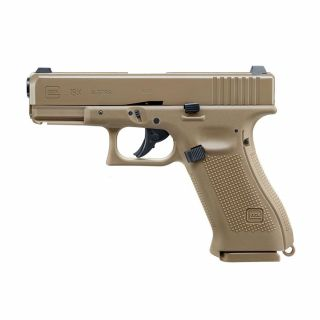 Wiatrówka Pistolet Glock 19X FDE Blow Back BB 4,5 mm