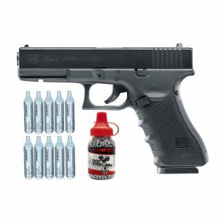 Wiatrówka pistolet Glock 22 4,5 mm z zestawem akcesoriów