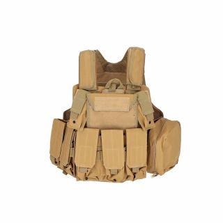 Kamizelka taktyczna Guerilla Tactical Ciras Maritime Tan