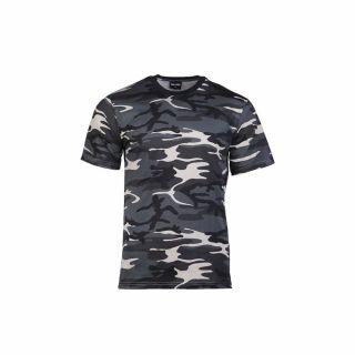 Koszulka T-Shirt Mil-Tec Dark Camo