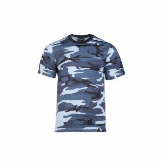 Koszulka T-shirt Mil-Tec Sky blue
