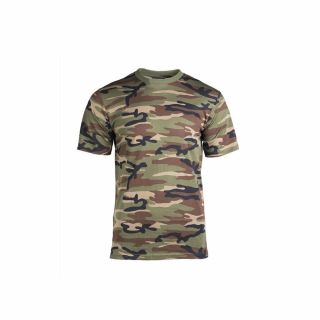 Koszulka T-Shirt Mil-Tec Woodland