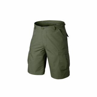 Krótkie Spodnie Helikon BDU Cotton Olive Green XXL/Reg