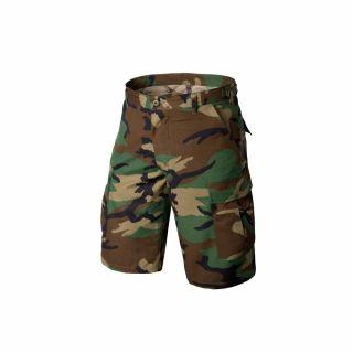 Krótkie Spodnie Helikon BDU Cotton Ripstop US Woodland S/Reg