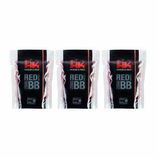 Kulki ASG H&K Red Battle Premium BB 6 mm 2500 szt 3 szt