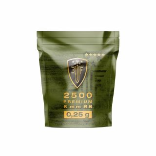 Kulki ASG ELITE FORCE Premium BB´s 0,25 g 2.500 szt