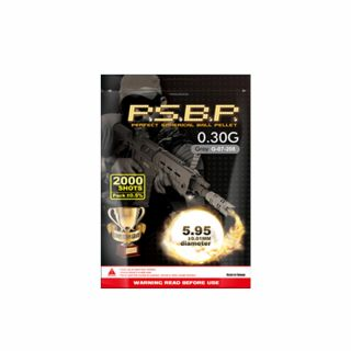 Kulki ASG G&G P.S.B.P 0,30 g 6 mm 2000 szt. Szare