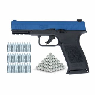 Pistolet RAM TPM 1 Law Enforcement ZESTAW 30 CO2 100 kule