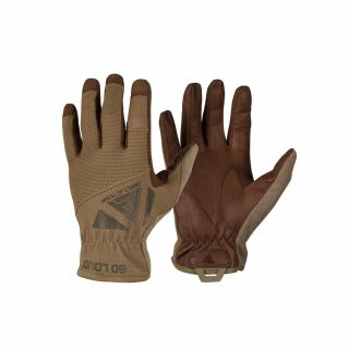 Rękawiczki Direct Action Light Leather Coyote Brown XL
