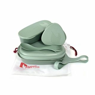 Zestaw naczyń Light My Fire LunchKit BIO sandygreen