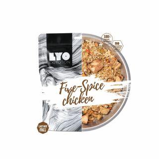 Żywność liofilizowana LYO Food Kurczak 5 smaków 370g