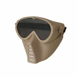 Maska Ochronna ASG Guerilla Tactical Guardian v.1 Tan