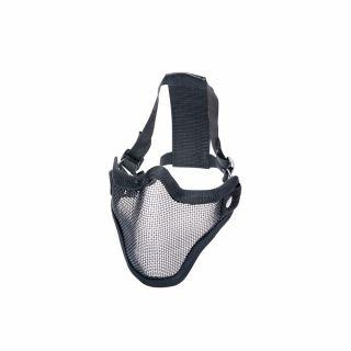 Maska ochronna ASG Stalker Metal mesh Black