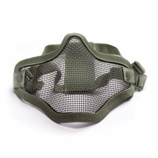 Maska ochronna ASG Stalker Metal mesh OD Green