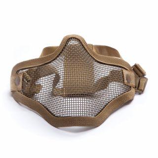 Maska ochronna ASG Stalker Metal mesh Tan
