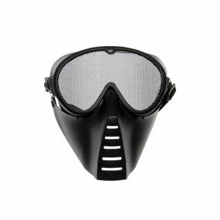 Maska ochronna ASG Strike Systems Black