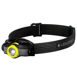 Latarka czołowa Ledlenser MH3 Black/Yellow