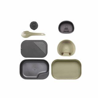 Zestaw naczyń Wildo CAMP-A-BOX Complete Desert Dark Grey A