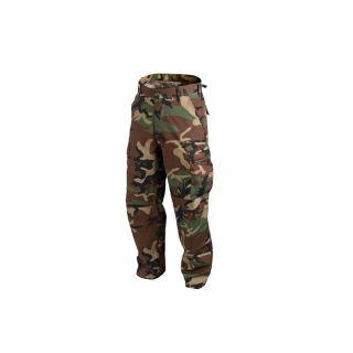 Spodnie Helikon BDU PolyCotton Ripstop Woodland XL/Regular