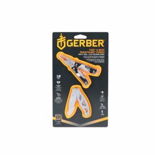 Multitool Gerber Gear Vise + nóż Gerber Gear Mini Paraframe