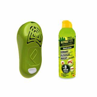 Ultradźwiękowy odstraszacz Tickless Human + Spray ULTRATHON