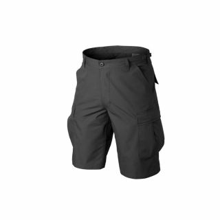 Krótkie Spodnie Helikon BDU PolyCotton Czarne XXL/Reg