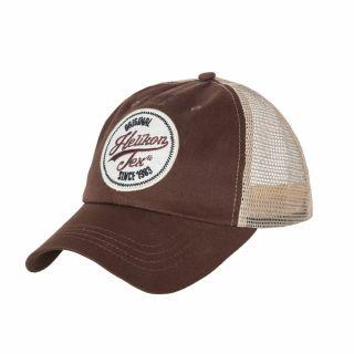 Czapka Helikon Trucker Logo Cap Cotton Twill Mud Brown