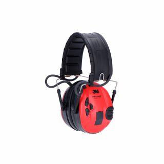 Ochronnik słuchu 3M PELTOR SportTac czarny/czerwony