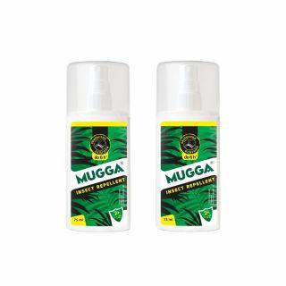 Spray na komary i kleszcze Mugga dla dzieci 9,5% DEET 2 szt