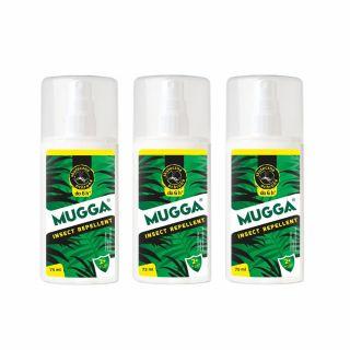 Spray na komary i kleszcze Mugga dla dzieci 9,5% DEET 3 szt