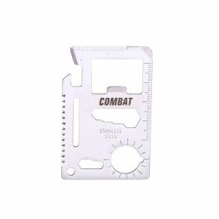 Multitool wielofunkcyjny w formie karty kredytowej COMBAT