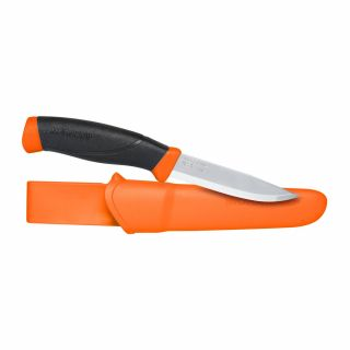 Nóż z głownią stałą Morakniv Companion F Orange Stainless